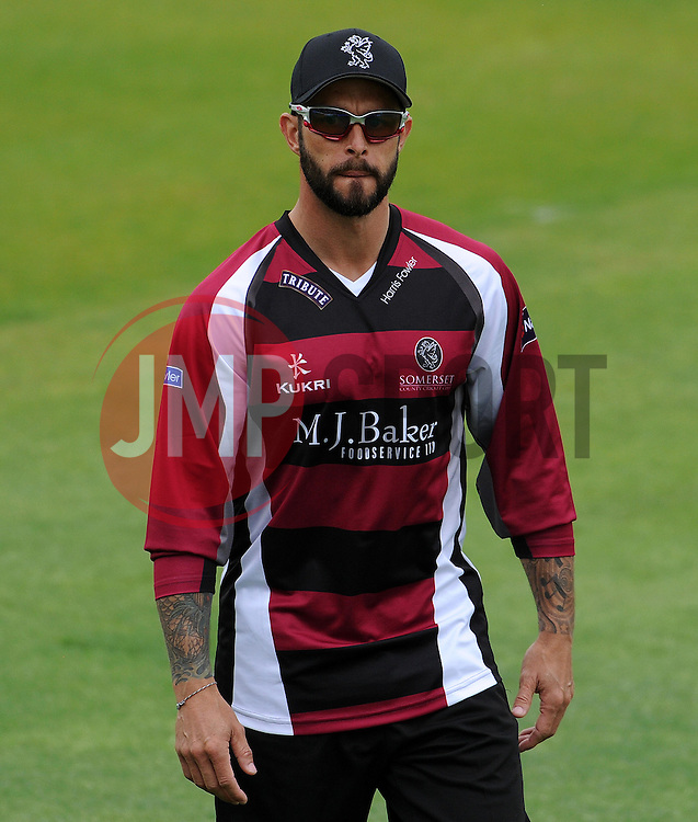 Somerset's Peter Trego Photo mandatory by-line: Harry Trump/JMP - Mobile: 07966 386802 - 22/05/15 - SPORT - CRICKET - Natwest T20 Blast - Somerset v Sussex Sharks - The County Ground, Taunton, England.