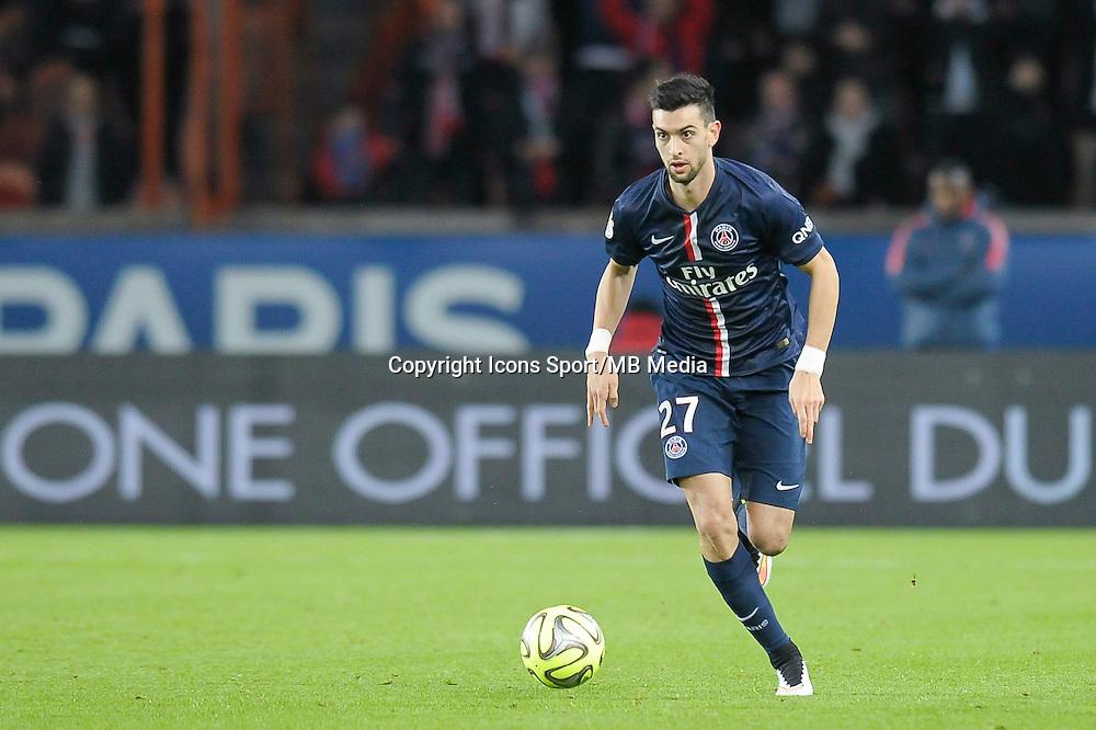 Javier Pastore - 06.12.2014 - PSG / Nantes - 17eme journee de Ligue 1<br />Photo : Andre Ferreira / Icon Sport