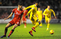 Alex Jakubiak of Bristol Rovers gets past Jon Guthrie of Walsall- Mandatory by-line: Nizaam Jones/JMP - 26/12/2018 - FOOTBALL - Banks's Stadium - Walsall, England- Walsall v Bristol Rovers - Sky Bet League One