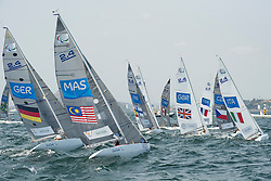 KROGER Heiko, GER, 1 Person Keelboat, 2.4mR, Sailing, Voile, MATRIN Al Mustakim, MAS, SALOMAA Niko, FIN, LUCAS Helena, GBR, SQUIZZATO Antonio, ITA, MILLAR Bruce, CAN, SEGUIN Damien, FRA, BINA Daniel, CZE, ROSA Nuno, BRA à Rio 2016 Paralympic Games, Brazil