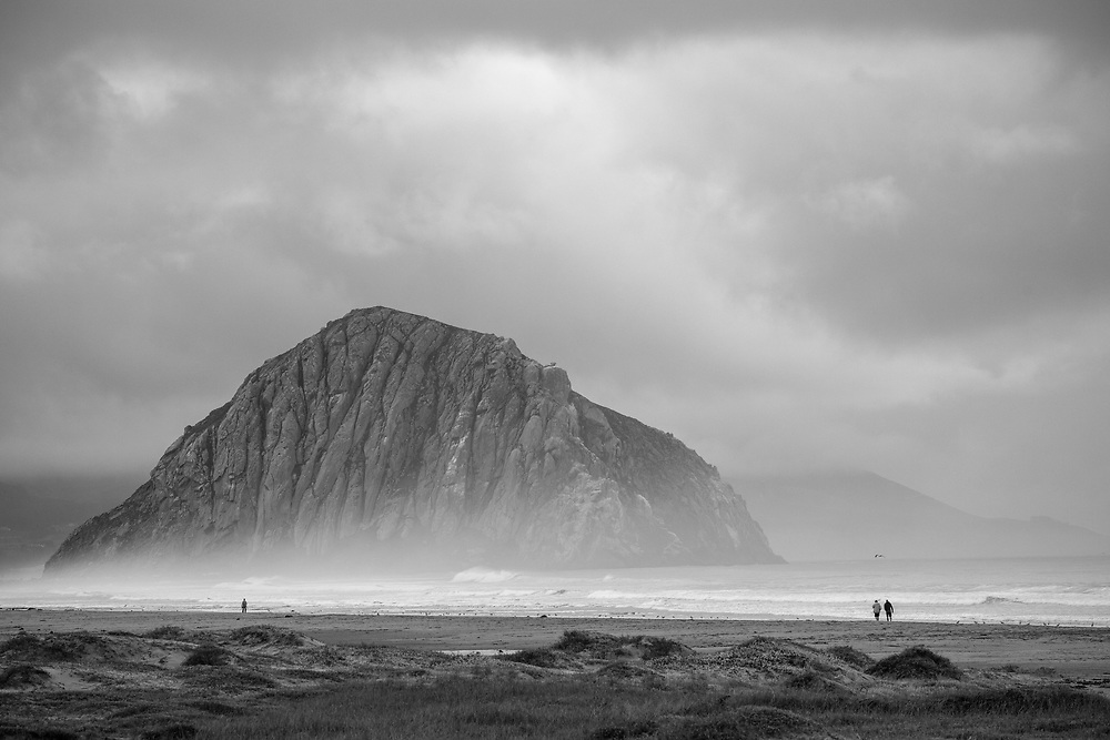 Morro Bay.  California.  December, 2017.