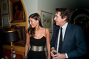 AMANDA SHEPPARD; BRYAN FERRY, BRIONI FRAGRANCE LAUNCH. Annabels. Berkeley Sq. London. 14 October 2009.