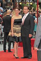 LONDON - SEPTEMBER 04: Keeley Hawes; Matthew Macfadyen attended the World Film Premiere of 'Anna Karenina' at the Odeon cinema, Leicester Square, London, UK. September 04, 2012. (Photo by Richard Goldschmidt)