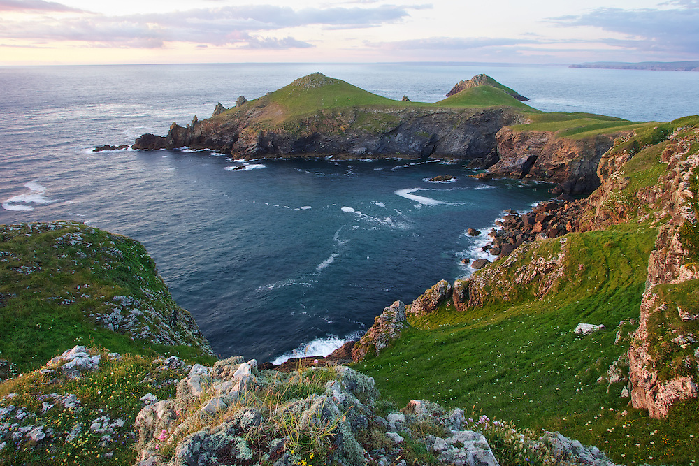 Coastal view of the Rumps, North Cornwall