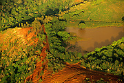 Aerial image of the backcountry in Kauai, Hawaii, Hawaiian Islands, America West