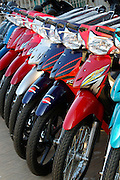 Rach Gia. Brand new Honda motorbikes for sale.