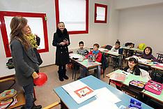 20130107 PRIMO GIORNO DI LEZIONE NUOVA SCUOLA MIRABELLO