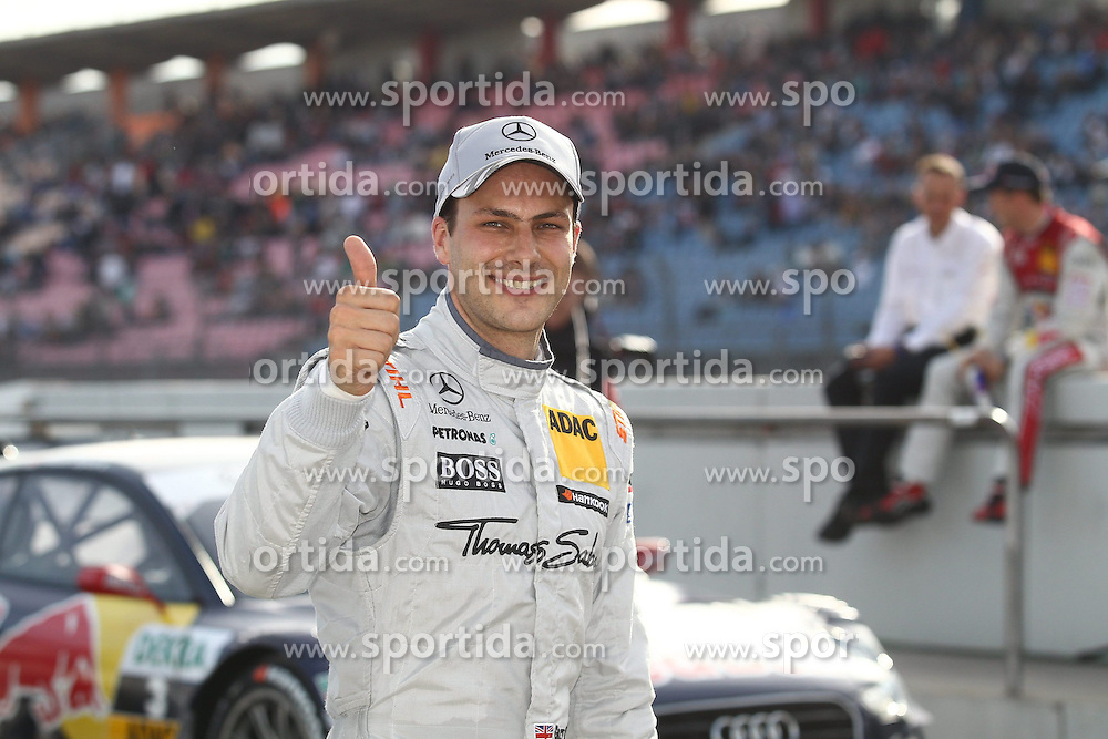 20.10.2012, Hockenheimring, GER, DTM, Hockenheimring, im Bild Gary PAFFETT(tba/ AMG Mercedes C Coupe), Emotionen// during the DTM Event at the Hockenheimring, Hockenheim, Germany on 2012/10/20. EXPA Pictures © 2012, PhotoCredit: EXPA/ Eibner/ Alexander Neis..***** ATTENTION - OUT OF GER *****