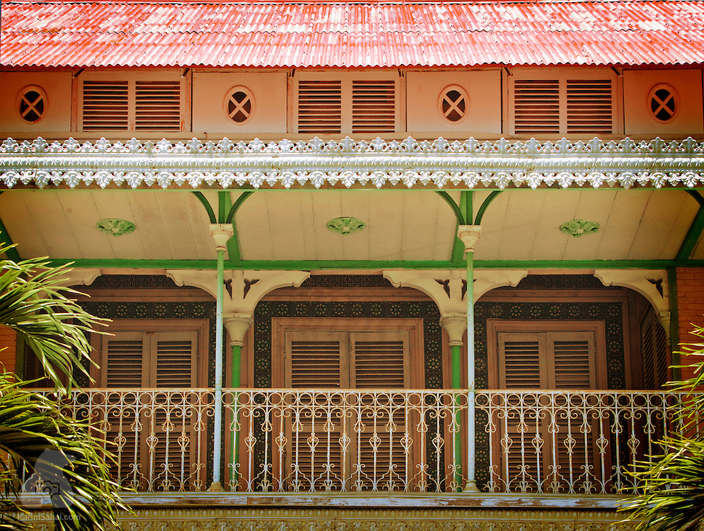 The Saint-John Perse museum in Pointe-A-Pitre, Guadeloupe, is a well-preserved example of colonial creole achitecture. The building is the former residence of the owners of the 'Darboussier' sugar refinery. It was converted to a museum in 1987. The large creole villa hosts a selection of items belonging to Alexis Leger, a french diplomat and writer who used the pseudonym 'Saint-John Perse' to pen some of Guadeloupe's most memorable poetry. Leger was awarded the Nobel Prize in Literature in 1960.