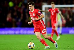 Daniel James of Wales - Mandatory by-line: Ryan Hiscott/JMP - 13/10/2019 - FOOTBALL - Cardiff City Stadium - Cardiff, Wales - Wales v Croatia - UEFA European Qualifiers