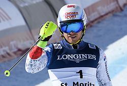 13.02.2017, St. Moritz, SUI, FIS Weltmeisterschaften Ski Alpin, St. Moritz 2017, alpine Kombination, Herren, Slalom, im Bild Mauro Caviezel (SUI, Herren Alpine Kombination Bronzemedaille) // men's Alpine Combined Bronze medalist Mauro Caviezel of Switzerland reacts after his run of Slalom competition for the men's Alpine combination of the FIS Ski World Championships 2017. St. Moritz, Switzerland on 2017/02/13. EXPA Pictures © 2017, PhotoCredit: EXPA/ Erich Spiess