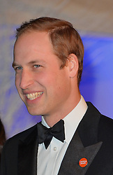 Prince William attends the Winters Whites Gala in aid of Centrepoint at Kensington Palace, London, United Kingdom. Tuesday, 26th November 2013. Picture by Andrew Parsons / i-Images