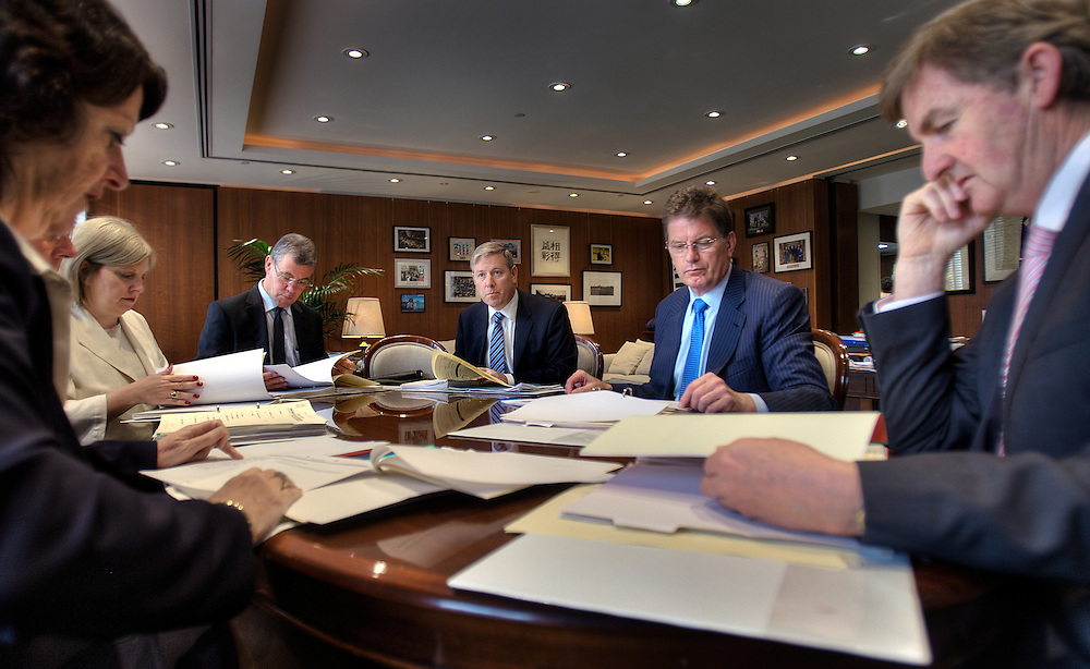 Victorian Premier Ted Baillieu after one year in office. Cabinet meeting in the premiers office. Pic By Craig Sillitoe CSZ/The Sunday Age.21/11/2011 melbourne photographers, commercial photographers, industrial photographers, corporate photographer, architectural photographers, This photograph can be used for non commercial uses with attribution. Credit: Craig Sillitoe Photography / http://www.csillitoe.com<br />