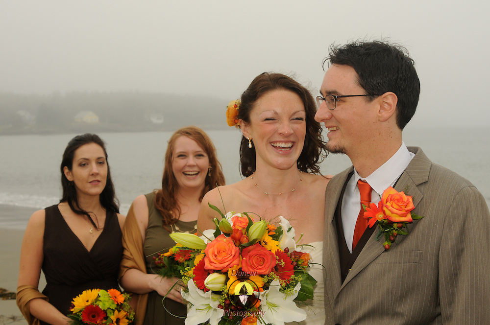 10/1/11 -- PHIPPSBURG, Maine.  Kelp Shed at Hermit Island.  The Wedding of Natalie and Eric Severance.   Photo © 2011 by Roger S. Duncan.