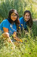 teen volunteers in MCG