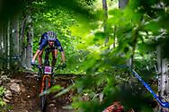 BLUNK Savilia (USA) at the Women's U23 2019 Mountain Bike Cross Country World Championships in Mont-Sainte-Anne, Canada.