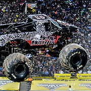 Ace 2017 Year In Review - Metal Mulisha Truck driven by Matt Buyten, Sun Bowl Stadium El Paso Texas