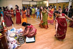 Preparing to celebrate Navratri; the Hindu festival of Nine Nights,