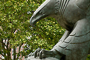 Eagle at Vietnam Memorial, Battery Park, Lower Manhattan,New York,U.S.A.,