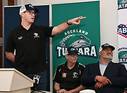 Baseball NZ CEO Ryan Flynn. Auckland Tuatara baseball team is announced to play in the Australian Baseball League at the Centre for Conservaion Medicine at Auckland Zoo. New Zealand. Monday 27 August 2018. © Copyright Image: Andrew Cornaga / www.photosport.nz