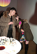 Part of the asian film festival. The afterparty following the UK film premiere of 'Norwegian Wood' at the Haunch Of Venison. London. 3 March 2011 -DO NOT ARCHIVE-© Copyright Photograph by Dafydd Jones. 248 Clapham Rd. London SW9 0PZ. Tel 0207 820 0771. www.dafjones.com.