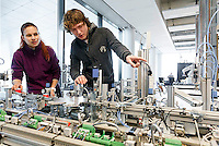 Technisch onderwijs op de ROC Leiden.<br /> Foto: Phil Nijhuis
