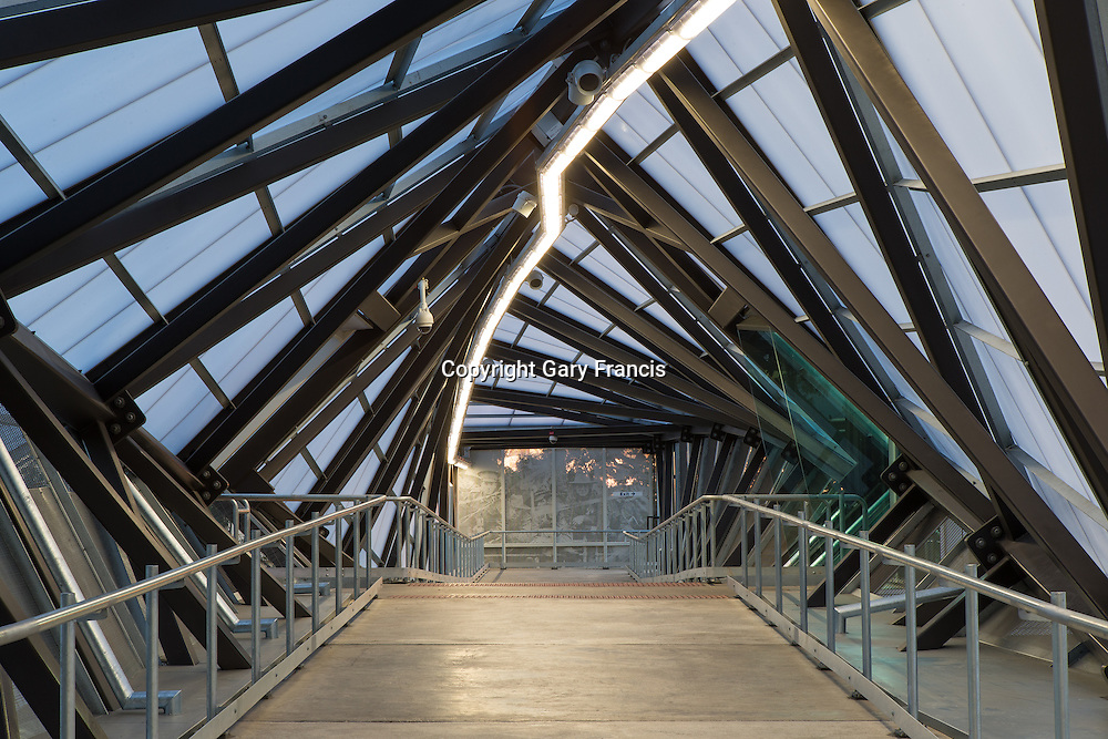 Wayville Station Plaform Structures and Bridge by MacDow, Adelaide, Australia on the 30 March 2014