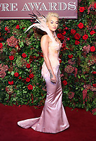 Rita Ora, 64th Evening Standard Theatre Awards, Theatre Royal Drury Lane, London UK, 18 November 2018, Photo by Richard Goldschmidt