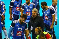 Claude Onesta - 03.05.2015 - France / Macedoine - Qualifications Championnats d'Europe -Toulouse<br />Photo : Manuel Blondeau / Icon Sport