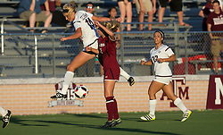 South Carolina vs. Texas A&M NCAA college soccer game Thursday, Sept. 29, 2016, in College Station, Texas.