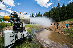 Oviratlon Obstacle Challenge Pokljuka 2018, on July 7, 2018 in Rudno polje, Pokljuka, Slovenia. Photo by Vid Ponikvar / Sportida