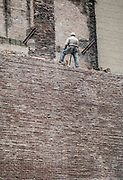 Demolition Man and Wall, New York City, New York, USA, February1983