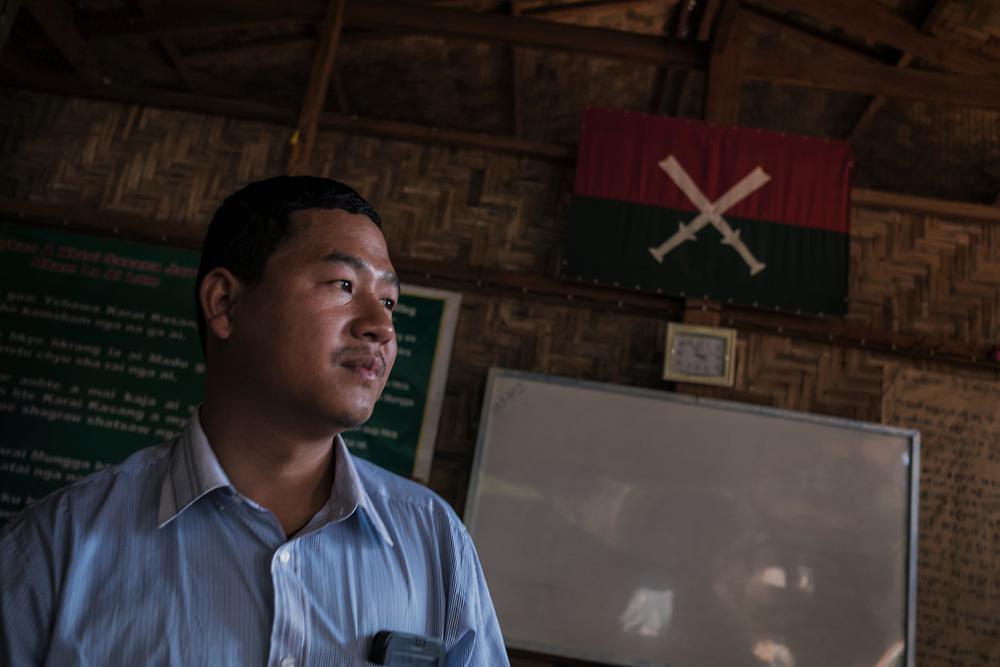 20170227 Myitkyina<br /> Reverend Ndawng Seng Du runs on of Pat Ja Sans  rehabilitation centers in Myitkyina, Kachin State, Myanmar.<br /> Photo: Vilhelm Stokstad / Kontinent