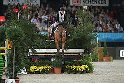 Collett Laura, (GBR), Mr Bass<br /> Indoor Derby<br /> Stuttgart - German Masters 2015<br /> © Hippo Foto - Stefan Lafrentz