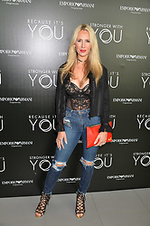 Naomi Isted at the Emporio Armani YOU fragrance launch at Sea Containers, 18 Upper Ground, London England. 20 July 2017.<br /> Photo by Dominic O'Neill/SilverHub 0203 174 1069 sales@silverhubmedia.com