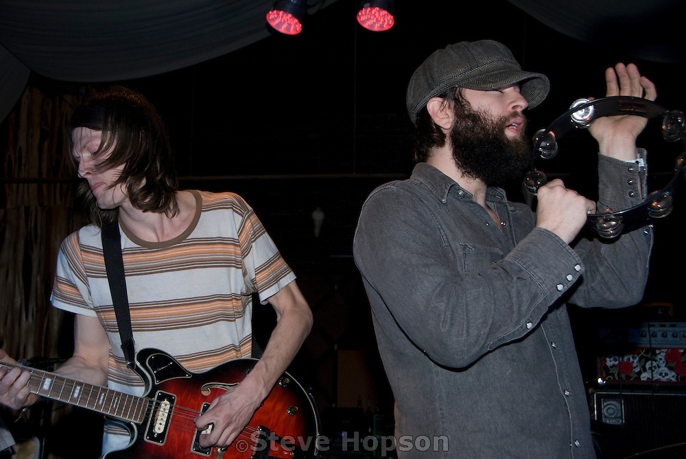 Nate Ryan and Alex Maas of the Black Angels performing at South By Southwest 2008, Austin Texas, March 12 2008.