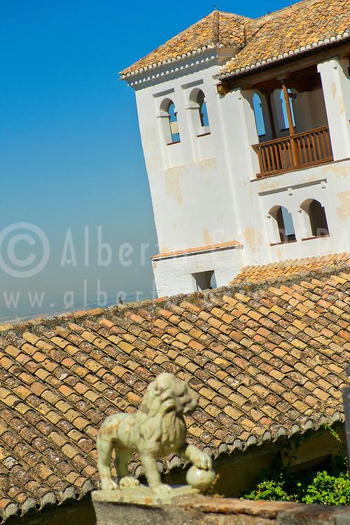Alberto Carrera, Generalife Palace, La Alhambra, UNESCO World Heritage Site, Granada, Andalucía, Spain, Europe