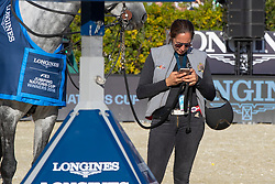 Team Belgium, Verlooy Jois, Vermeir Willem, Philippaeets Nicola, Weinberg Peter, Devos Pieter, Bruynseels Niels<br /> Longines FEI Jumping Nations Cup™ Final<br /> Barcelona 20128<br /> © Hippo Foto - Dirk Caremans<br /> 07/10/2018