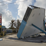 MARATHON, FL - SEPTEMBER 16: <br /> Destruction on the side of the road on US1 on September 16, 2017 in Marathon, Florida.  (Photo by Angel Valentin/Getty Images)