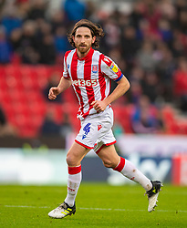 STOKE-ON-TRENT, ENGLAND - Saturday, January 25, 2020: Stoke City's captain Joe Allen during the Football League Championship match between Stoke City FC and Swansea City FC at the Britannia Stadium. (Pic by David Rawcliffe/Propaganda)