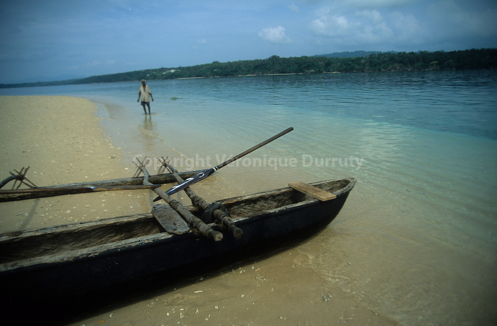 Far in the Pacific islands