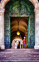 &ldquo;Pontifical Swiss Guard that protects the Sisters and the bronze doors of the Vatican&rdquo;&hellip;<br />