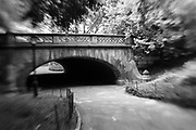 Archway in central park. NYC 2011