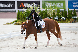 Natalya Zhavoronkova, (RUS), Typhoon - Team Competition Grade IV Para Dressage - Alltech FEI World Equestrian Games™ 2014 - Normandy, France.<br /> © Hippo Foto Team - Jon Stroud <br /> 25/06/14