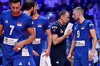 Serbia coach Nikola Grbic.<br /> Torino 30-09-2018 Pala Alpitour <br /> FIVB Volleyball Men's World Championship <br /> Pallavolo Campionati del Mondo Uomini <br /> Finals / 3th place<br /> Serbia - USA  <br /> Foto Antonietta Baldassarre / Insidefoto