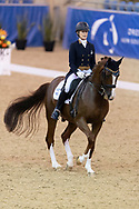 SYDNEY, AUSTRALIA - MAY 03: Lesley-Anne Taylor performs at The Sydney Concours de Dressage International on May 03, 2019 at The Sydney International Equestrian Centre in NSW, Australia. (Photo by Wendell Teodoro/Speed Media)