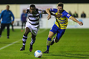 Forest Green Rovers Dale Bennett(6) during the Vanarama National League match between Solihull Moors and Forest Green Rovers at the Automated Technology Group Stadium, Solihull, United Kingdom on 25 October 2016. Photo by Shane Healey.