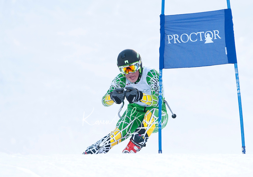 Tecnica Cup giant slalom for J1 J2 at Proctor / Blackwater January 23, 2011.