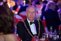 CARDIFF, WALES - Monday, October 5, 2015: xxxx during the FAW Awards Dinner at Cardiff City Hall. (Pic by Ian Cook/Propaganda)