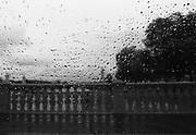 Tuesday October 21th 2008. Paris, France..In a car..Pont des Invalides - 7th Arrondissement.